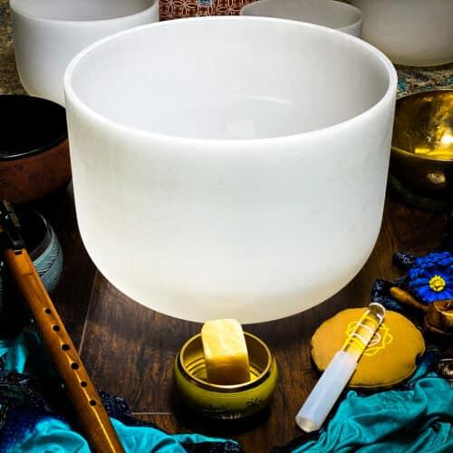 D   Sacral Chakra Crystal Singing Bowls