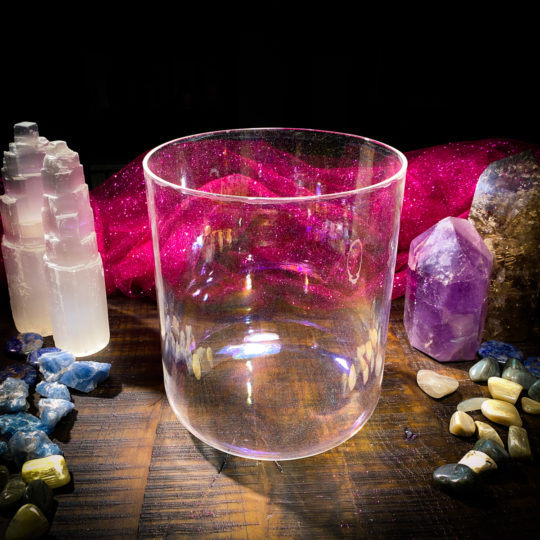platinum alchemy crystal singing bowl 6 inch
