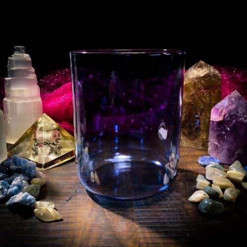blue alchemy crystal singing bowl