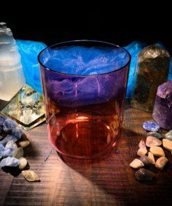 crystal singing bowl alchemy red