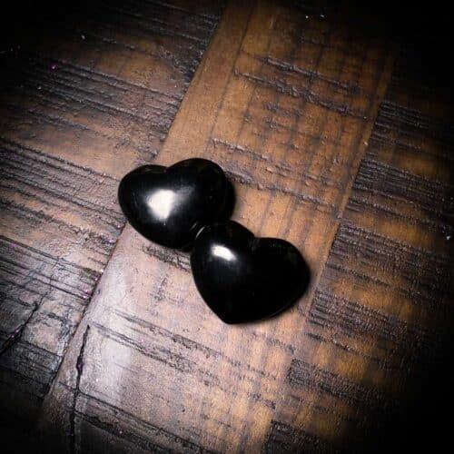 Shungite Crystal Heart Shaped The Om Shoppe