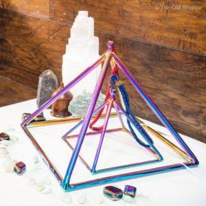 Titanium Crystal SInging Pyramids