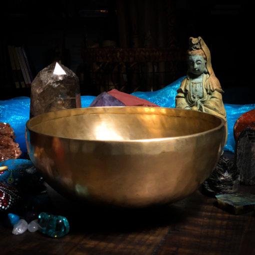10 inch hand hammered tibetan bowls