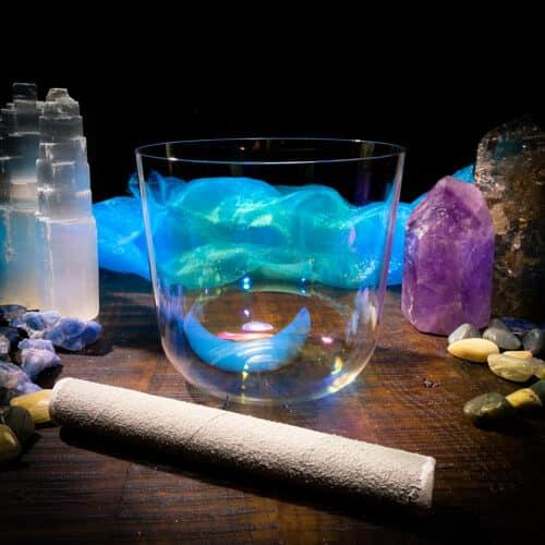 titanium crystal singing bowl