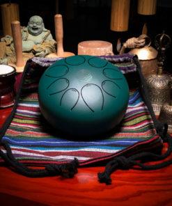 20 CM Green Steel Tongue Drum