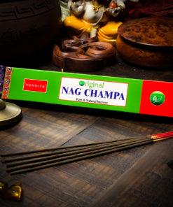 NAG CHAMPA INCENSE BY NANDITA THE OM SHOPPE