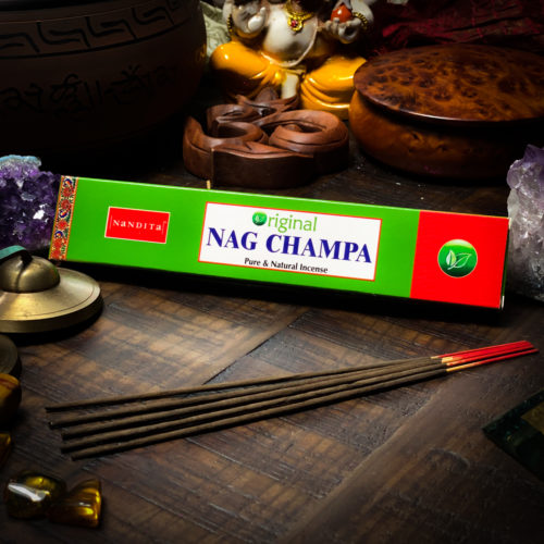NAG CHAMPA INCENSE BY NANDITA THE OM SHOPPE