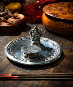 Ganesh Figurine Incense Burner The OM Shoppe
