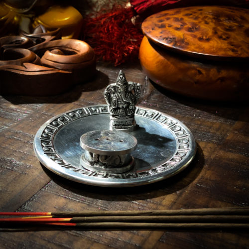 Ganesh Figurine Incense Burner The OM Shoppe
