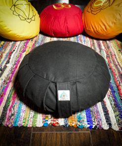 Black Meditation Pillow