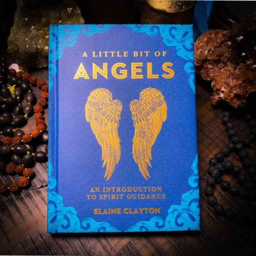 A little bit of angels, front of book.
