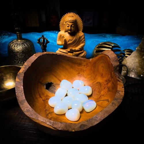 Opalite for meditation