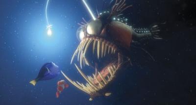 Resultado de imagem para fish in nemo that has a light bulb