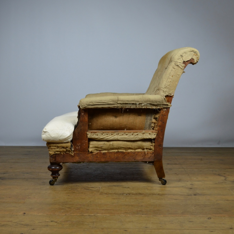 C186 Deep Seated English Armchair The One Off Chair