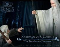 Gandalf vs Saruman