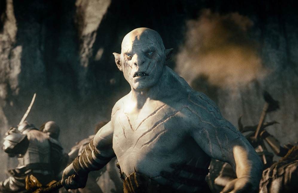 Image result for white orc the hobbit