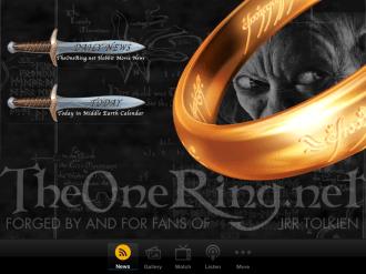 TheOneRing.net iPad App 01