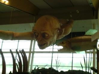 Gollum in his natural element