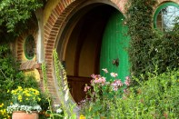 The door of Bilbo and Frodo Baggins.