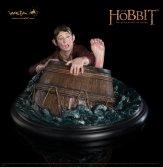 Bilbo Barrel-rider statue from Weta Workshop