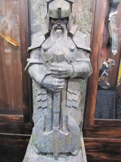Dwarf statue, part of the Weta booth at Salt Lake Comic Con, 2013.