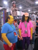 Comic Book Guy and Otto Mann