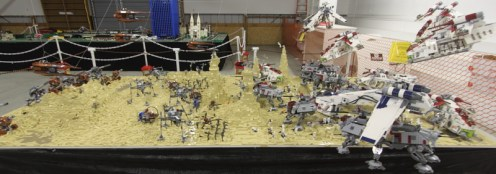 The Battle of Geonosis