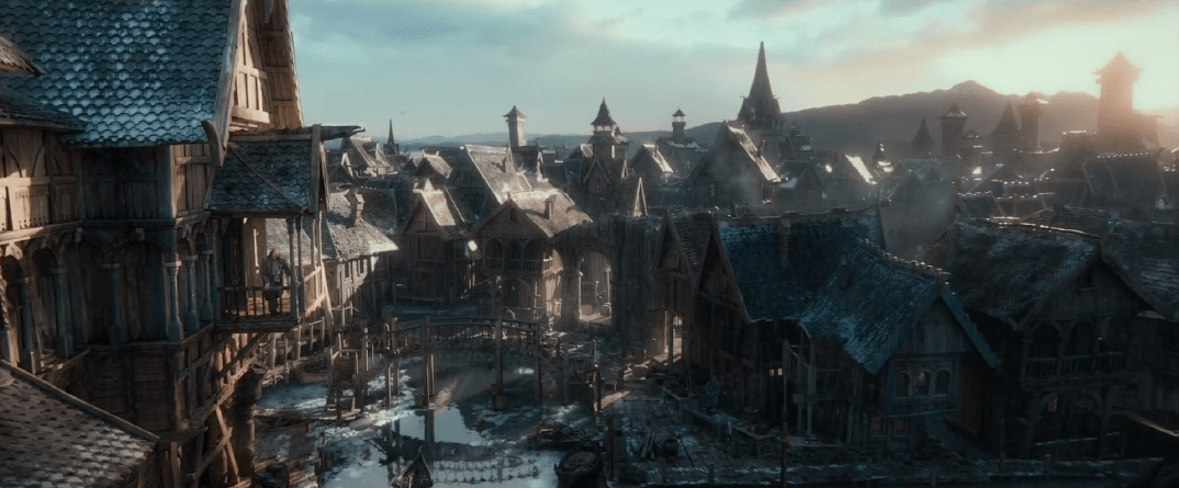 Cartoon Farm 3d Live Wallpaper See How Weta Brought Lake Town To Life For The Hobbit The