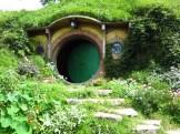 The door is cracked... Bilbo must be in! Or is it Frodo?