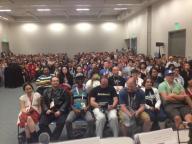 The full room