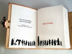 Peter Jackson Thank You Red Book