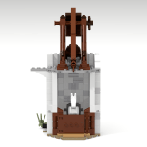 Minas Tirith update horse tower back