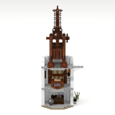 Minas Tirith update library tower back
