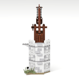 Minas Tirith update library tower front