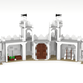 Minas Tirith update wall back