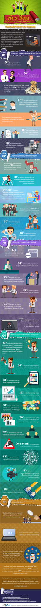 The fourth dimension is gone when the employees used to move loyal in addition to sincere amongst their operate Infographic: How to monitor cause out workplace