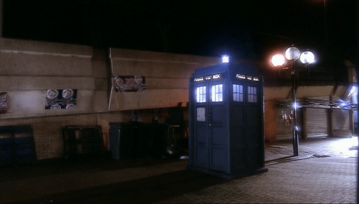 The Tardis - © BBC - http://www.bbc.co.uk/