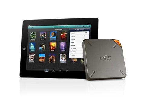 iPad et le LaCie Fuel - © LaCie