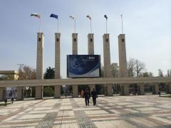 Plovdiv International Fair - Lieu de la compétition © Hugo Soler
