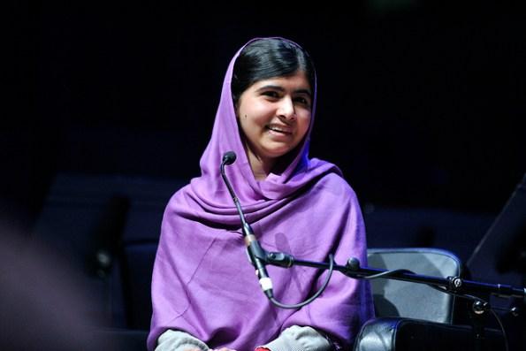 Malala Yousafzai -©Southbank Centre www.flickr.com/photos/southbankcentre/13008047475