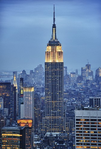 Empire State Building (HDR)-©Eric Kilby