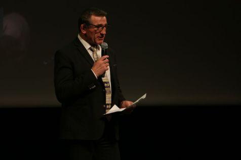 Louis Armary, président de l'ODS des Hautes-Pyrénées lance la soirée - © Louis Lefèvre