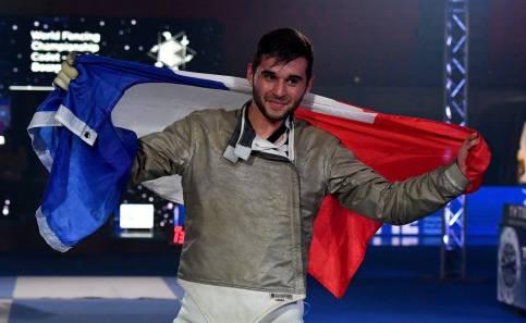 Charles Colleau - Champion du Monde junior Bourges 2016 - ©Augusto Bizzi