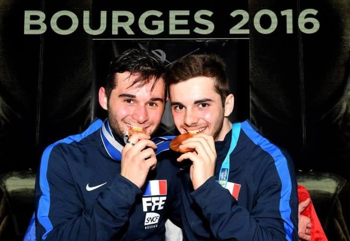 Charles Colleau - Jean-Philippe Patrice - Championnat Monde Bourges 2016 ©Augusto Bizzi