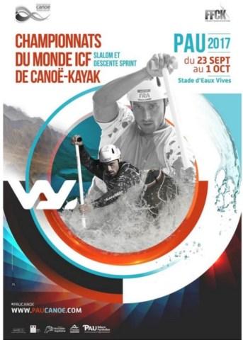 Championnat du Monde Canoë-Kayak Pau 2017