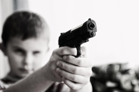 Weapon violence children
