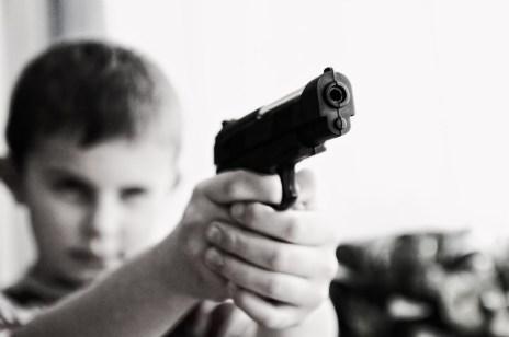 Weapon violence children