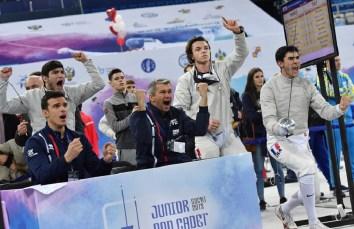 Championnat Europe Sotchi 2018 - France-Italie - ©FFE-Augusto Bizzi