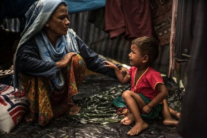 """Rohingya Crisis"" ©Tommy Trenchard/ Caritas/ CAFOD, September 2017"