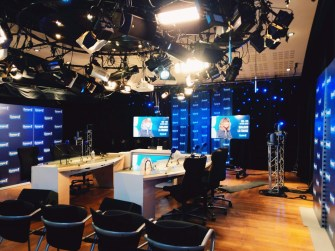 Studio - Europe 1 ©Louis Lefèvre